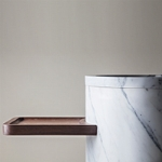 Freestanding stone sink